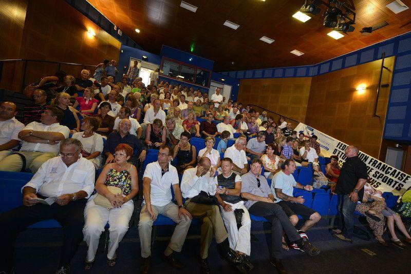 Une salle comble pour le 33e championnat de France de photo subaquatique